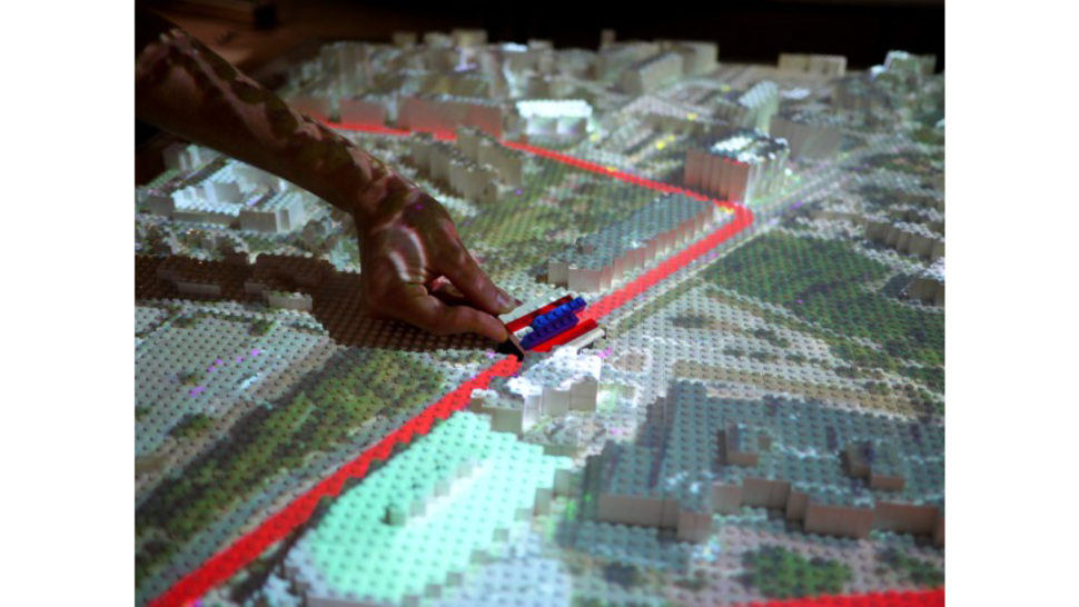 projection mapping urban planning tool